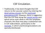 csf circulation1