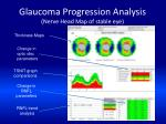 glaucoma progression analysis nerve head map of stable eye