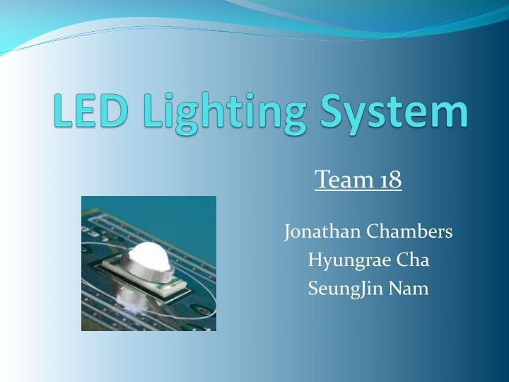 led lighting system n.