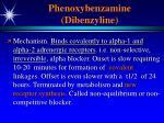 phenoxybenzamine dibenzyline