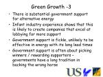 green growth 3
