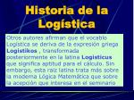 historia de la log stica3