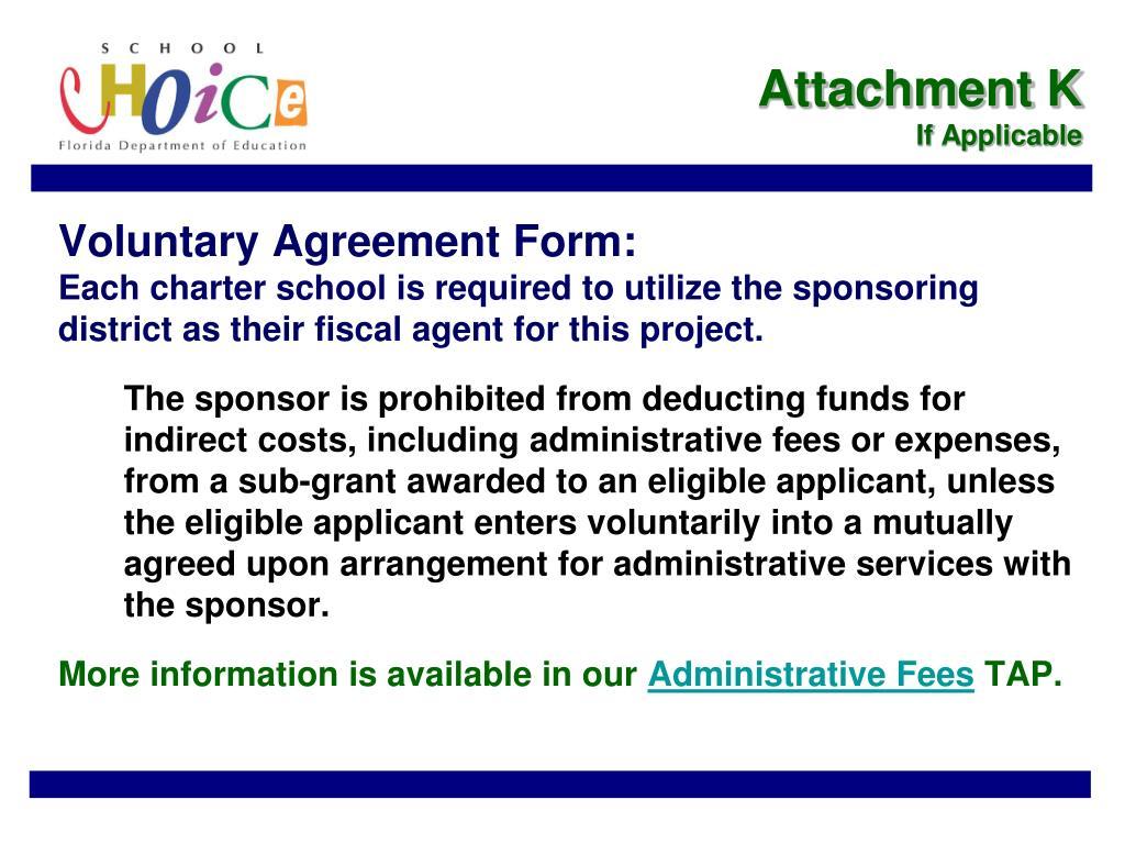 Attachment K
