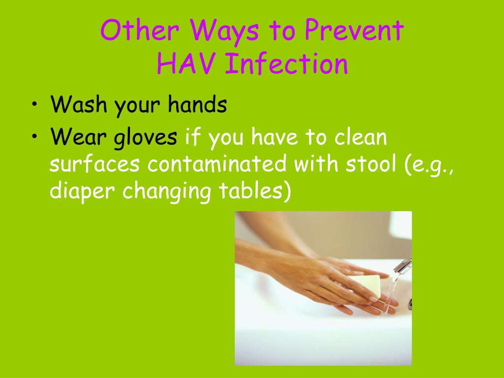 Other Ways to Prevent