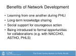benefits of network development