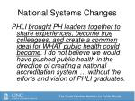 national systems changes1