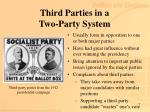 third parties in a two party system