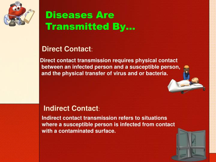 Diseases are transmitted by