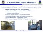 lackland afb project highlights1