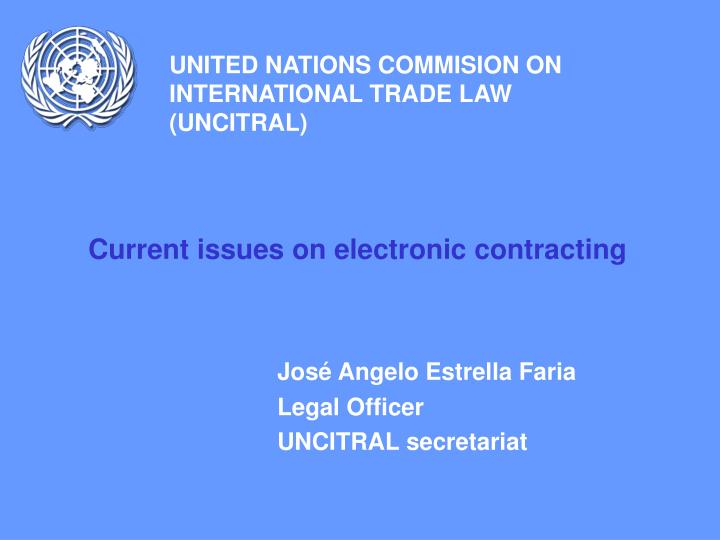 united nations commision on international trade law uncitral n.