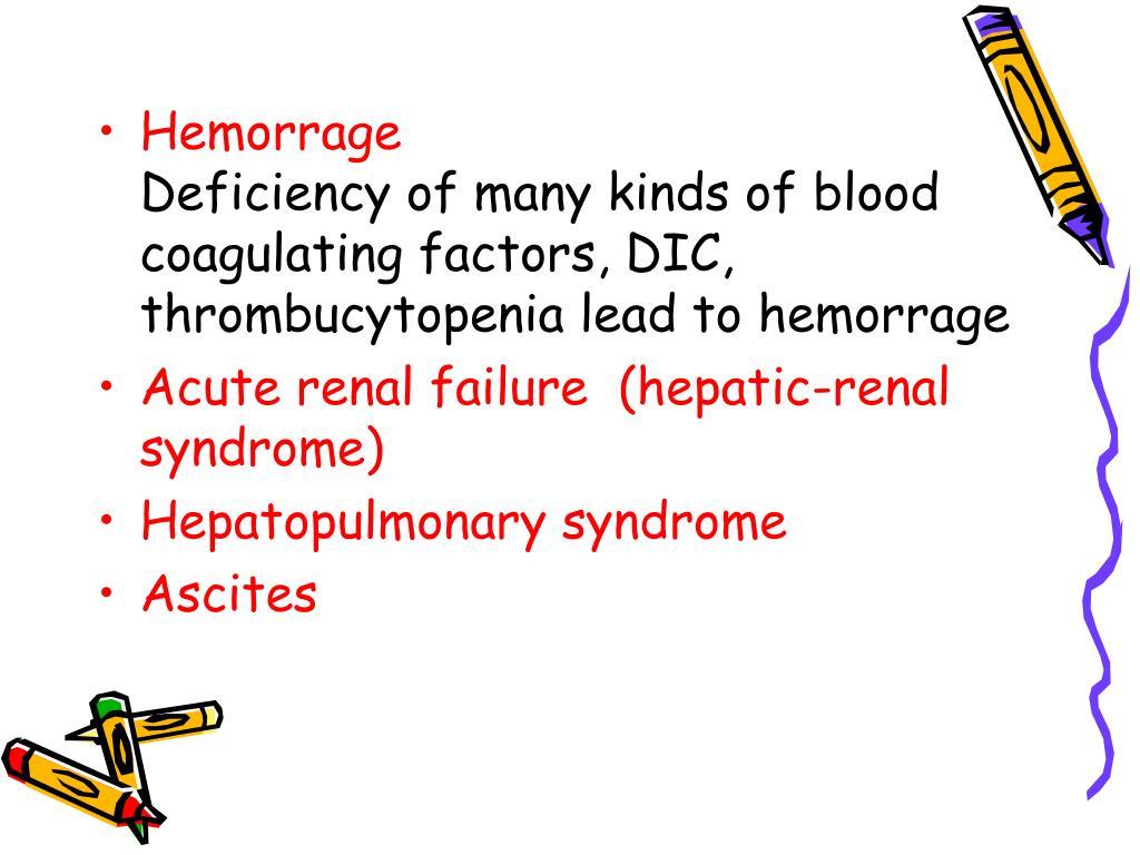 Hemorrage