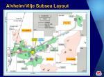 alvheim vilje subsea layout