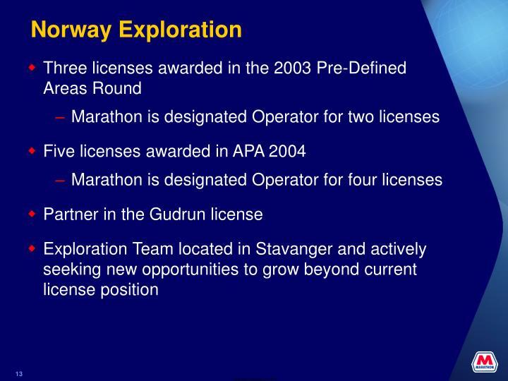 Norway Exploration