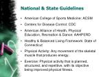 national state guidelines