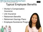 typical employee benefits1