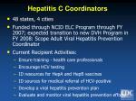 hepatitis c coordinators