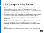 u s cyberspace policy review1
