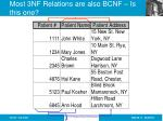 most 3nf relations are also bcnf is this one