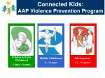 connected kids aap violence prevention program