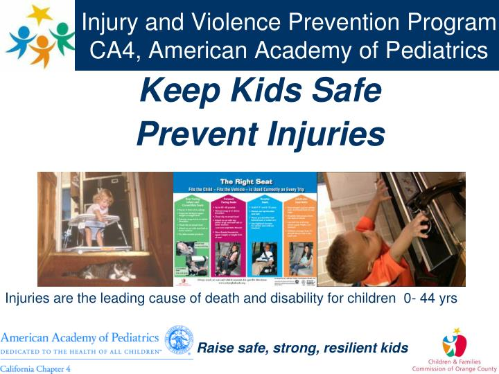 injury and violence prevention program ca4 american academy of pediatrics n.