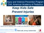 injury and violence prevention program ca4 american academy of pediatrics
