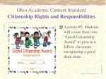 ohio academic content standard citizenship rights and responsibilities2