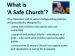 what is a safe church