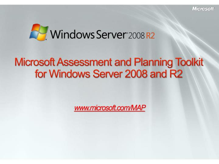 microsoft assessment and planning toolkit for windows server 2008 and r2 n.