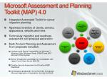 microsoft assessment and planning toolkit map 4 0