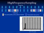 highfrequencysampling