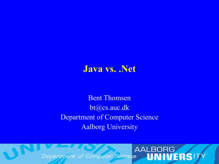 java vs net n.