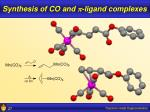 synthesis of co and p ligand complexes3