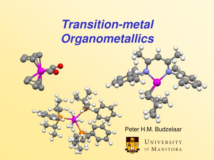 transition metal organometallics n.