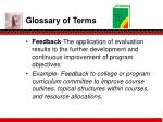 glossary of terms6