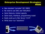 enterprise development strategies msde3
