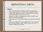 hepatitis g hgv78