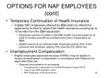 options for naf employees cont3