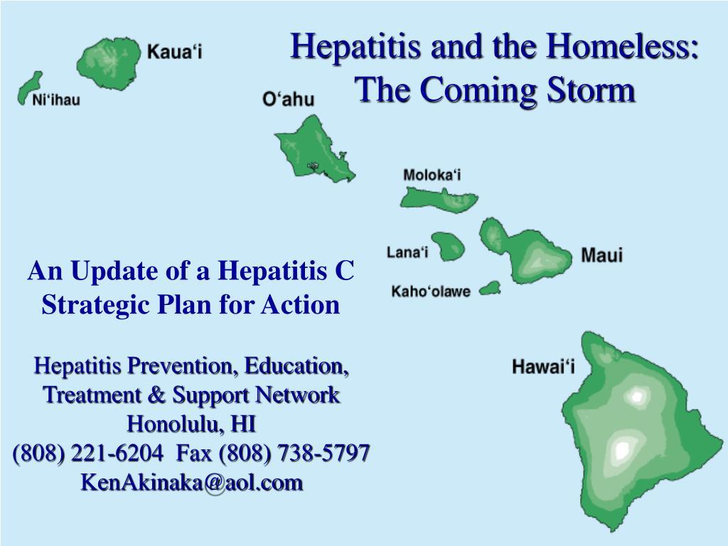 Hepatitis and the Homeless: