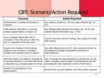cbt scenario action required