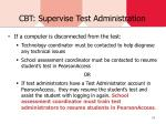 cbt supervise test administration