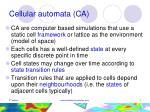 cellular automata ca