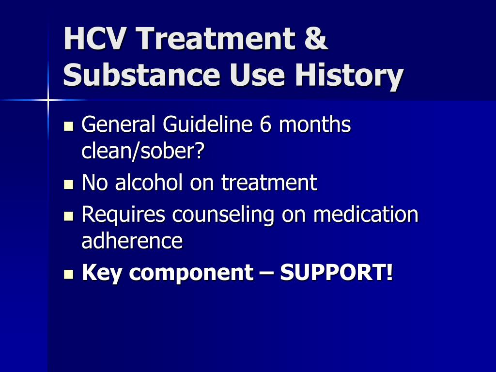 HCV Treatment &