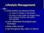 lifestyle management49