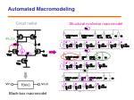 automated macromodeling1