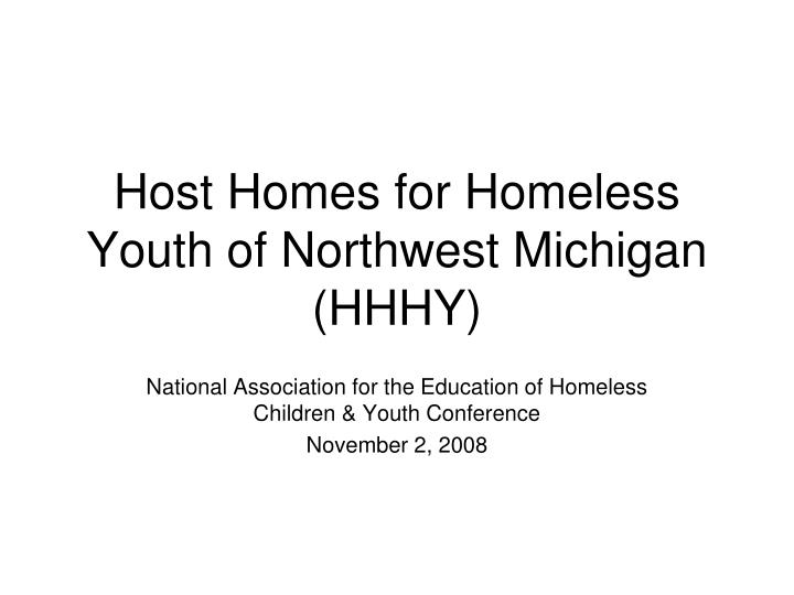 host homes for homeless youth of northwest michigan hhhy n.
