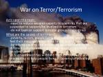 war on terror terrorism