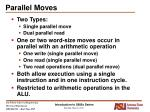 parallel moves