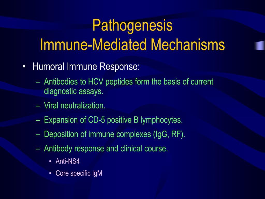 Pathogenesis                         Immune-Mediated Mechanisms