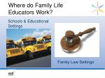 where do family life educators work2