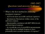 1992 1997 questions and answers abound30